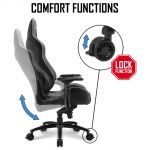 Sharkoon Gaming Seat The Personal Comfort Zone, Skiller SGS3, Black/ green